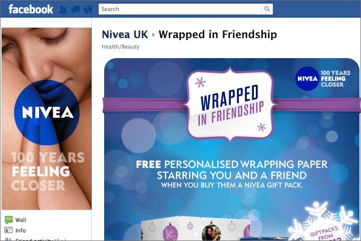 Nivea: kicks off Facebook campaign