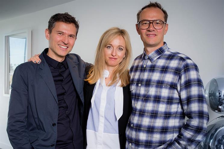 CHI & Partners: (l-r) Tudor, Golding, Elliott