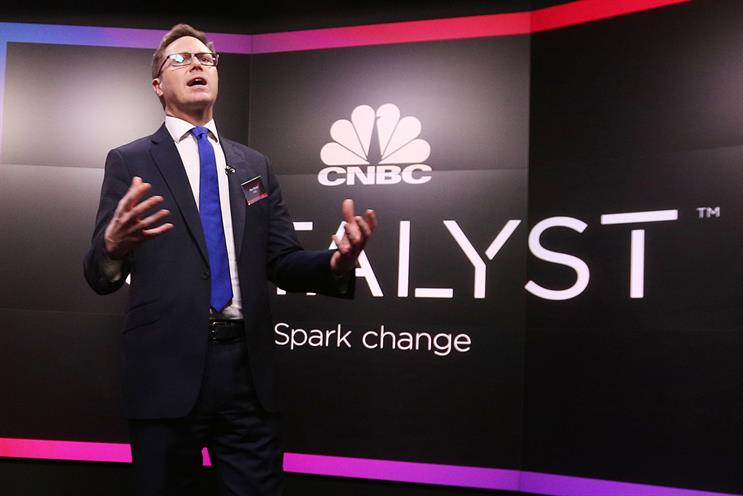 Max Raven: SVP of CNBC's in-house agency Catalyst