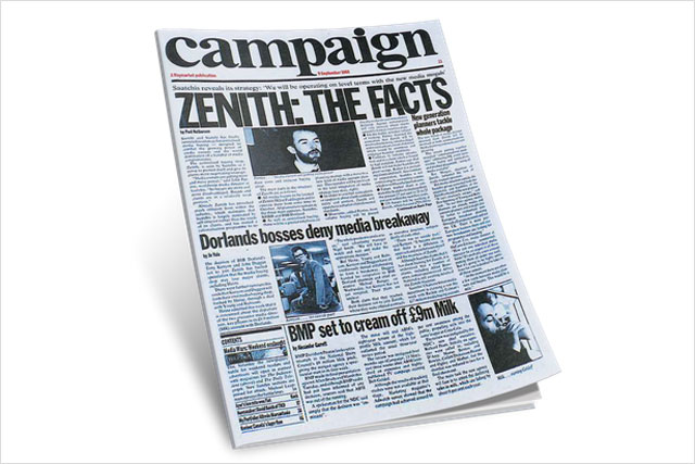 In the beginning: Campaign covers the arrival of Zenith Media
