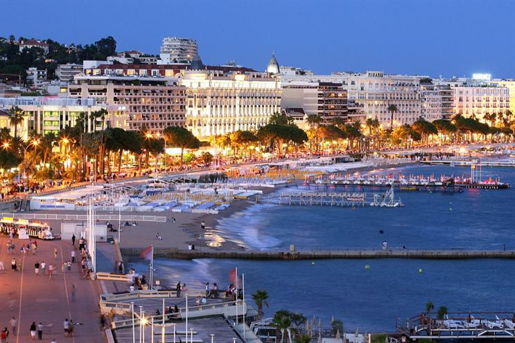 Cannes: provides an ideal schmoozing opportunity for new-business directors