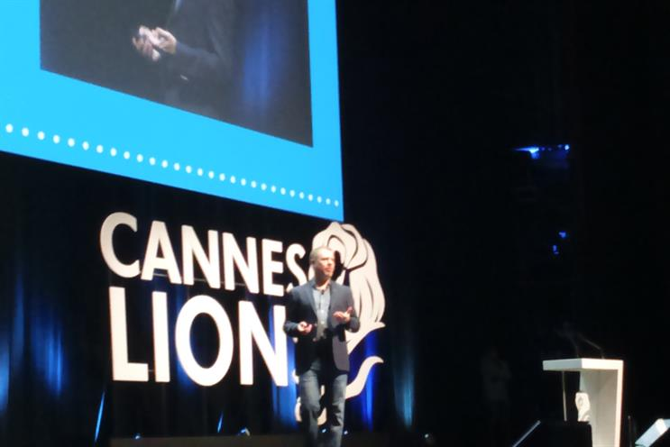 Chris Moody, Twitter's vice president of data strategy at Cannes