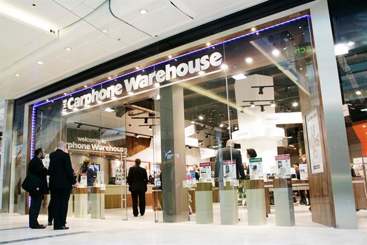 Dixons Carphone: Walker Media lands consolidated account, beating Carphone Warehouse's incumbent, M/SIX