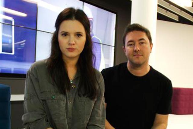 Vikki Morgan and Chris Buckley: promotions at TMW