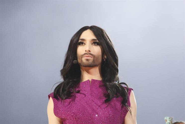 Austrian former Eurovision winner Conchita Wurst - photo credit: Thomas Hanses (EBU)