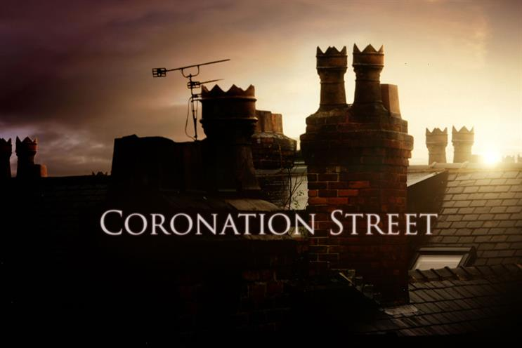 Coronation Street: Visa's payment terminals will appear in shops