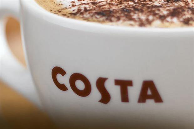 Costa: announces plans to open 500 extra UK stores