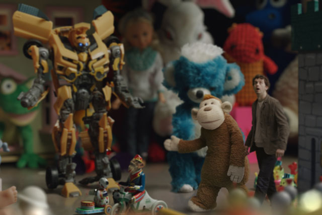 Barclaycard: James Corden provides the voice for ad character Mr. B