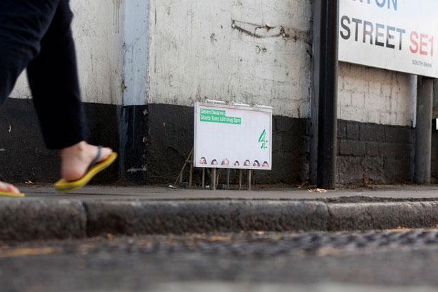 Seven Dwarves: Channel 4 launches mini poster campaign