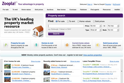 Zoopla: has hired VCCP to handle TV ad account