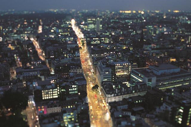 Oxford Street at night