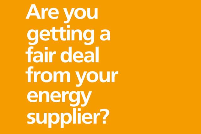 EDF: launches 'fair deal' campaign
