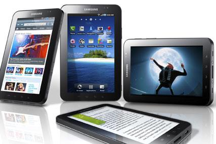 Samsung: unveils the Galaxy Tab at IFA show