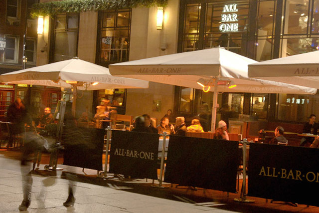 All Bar One: M&B brand