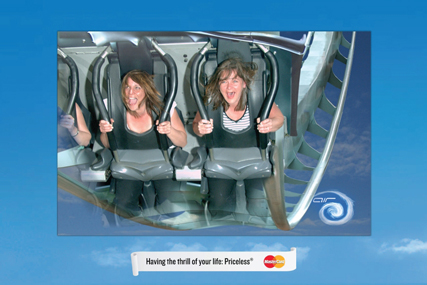 MasterCard ad: partnership deal with merlin theme parks