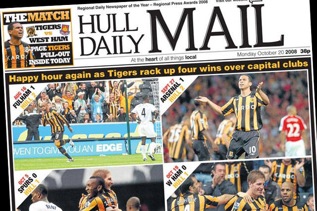 Hull Daily Mail: one of the Northcliffe Media titles