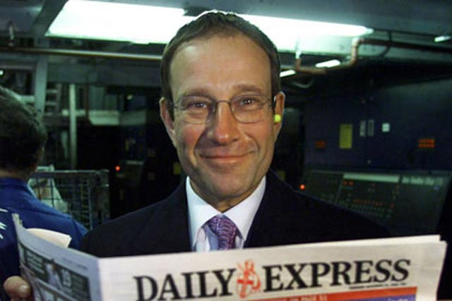 Richard Desmond: reportedly moving his print titles to Luton