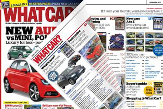 What Car? magazine: a Haymarket Consumer Media title