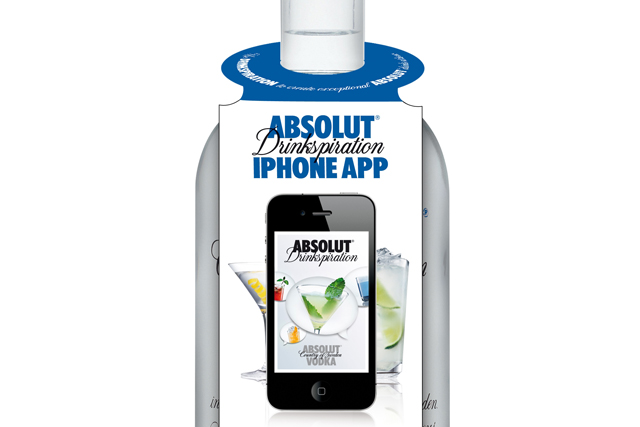 Absolut embraces QR technology for app push