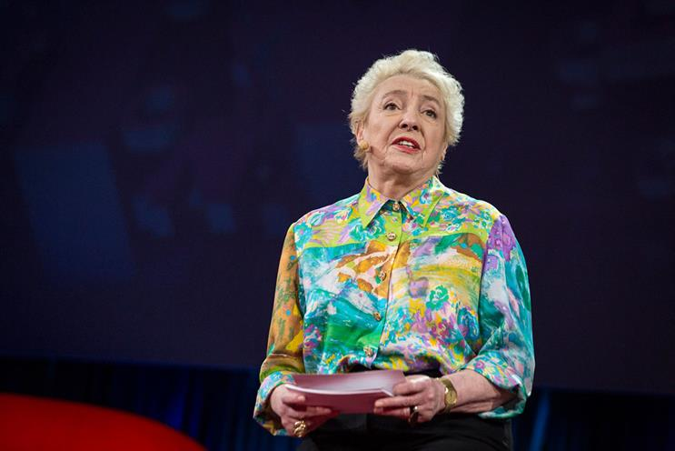 Dame Stephanie Shirley: advised attendees to be tenacious