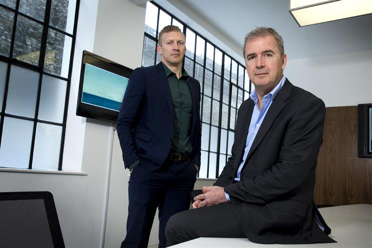 Davis (l) and Georgiadis: collaboration and new ways of working will be key features of Blue 449