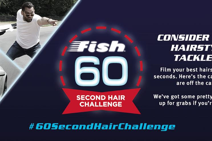 Fish: created the 60-Second Hair Challenge competition along with James