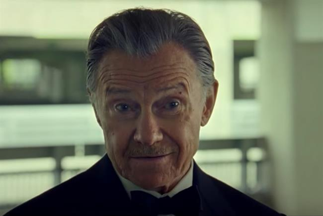 Harvey Keitel: plays the 'Pulp Fiction' character Winston Wolf in Direct Line ads