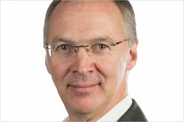 Chris Dobson: he becomes chief executive
