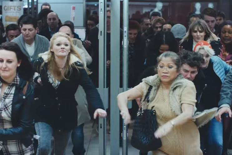 Doddle is among those brands telling shoppers to stay calm during Black Friday madness