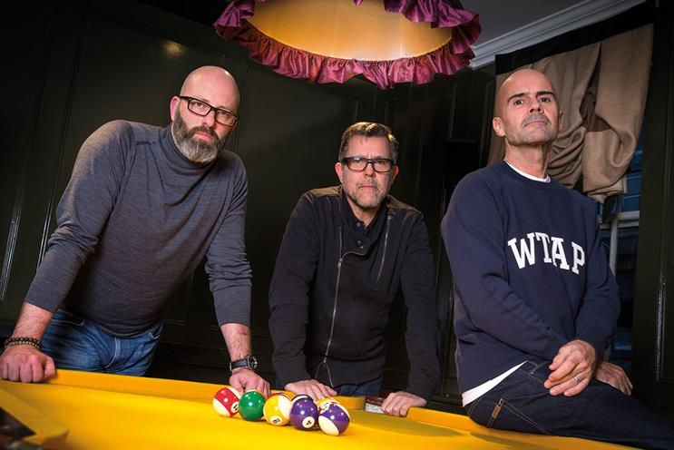 Duke (left to right): Hughston, Tanner and Howard