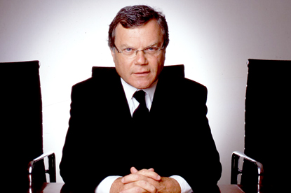 Martin Sorrell...pessimistic on economic recovery