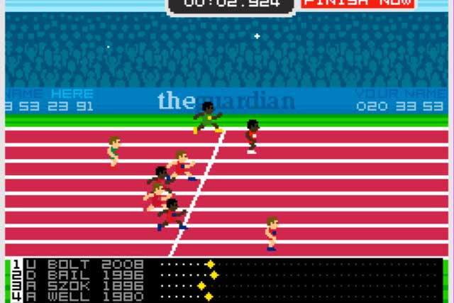The Guardian's Could You Be A Medallist? game