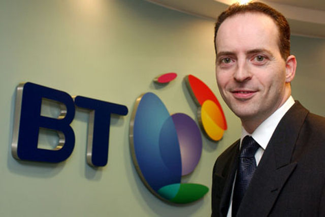 Ian Livingston: chief executive of BT