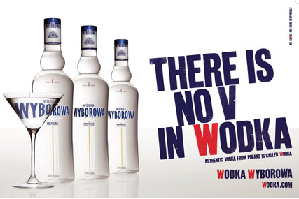 Wyborowa brand is up for pitch