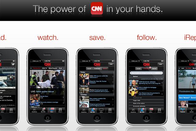 CNN: Apple iPhone app