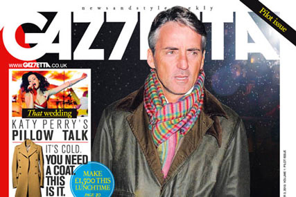 Gaz7etta: Italian Roberto Mancini is first cover star