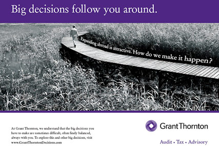 Grant Thornton…brand campaign later this year