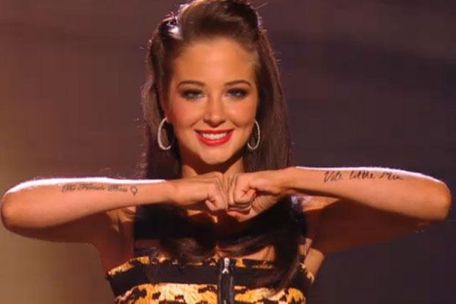 Tulisa Contostavlos: The X Factor judge on Saturday's show