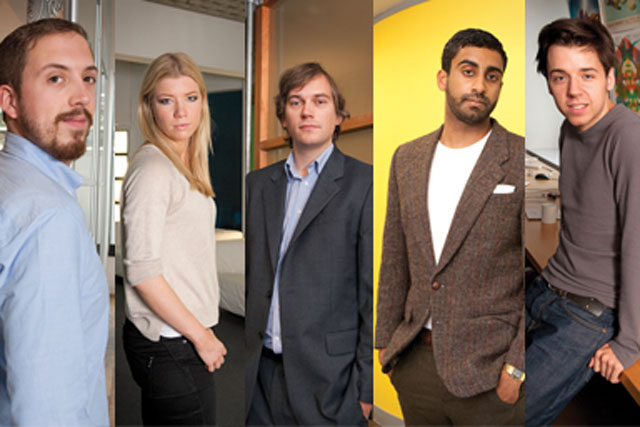 War of the Words: speakers Oliver Feldwick, Chloe Grindle, Rob Collins, Rohan Tambyrajah and James Mitchell