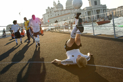 Twilight Football…Venice was one of the venues