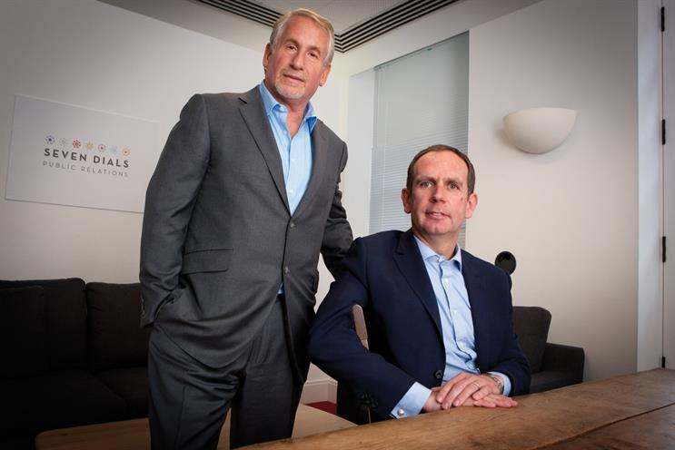 Seven Dials: Simon Kelner (l) and Andrew McGuinness this month launched BMB's PR arm
