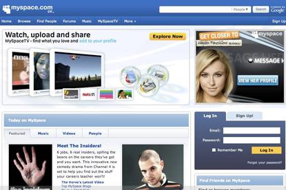 MySpace... redundancies