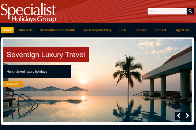 Specialist Holidays Group: 'looking to work with new partners'