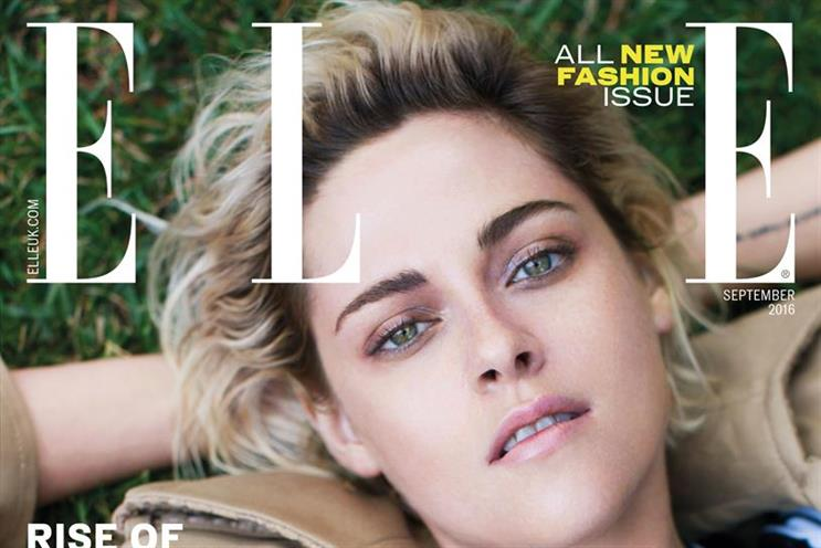 Elle was relaunched earlier this year