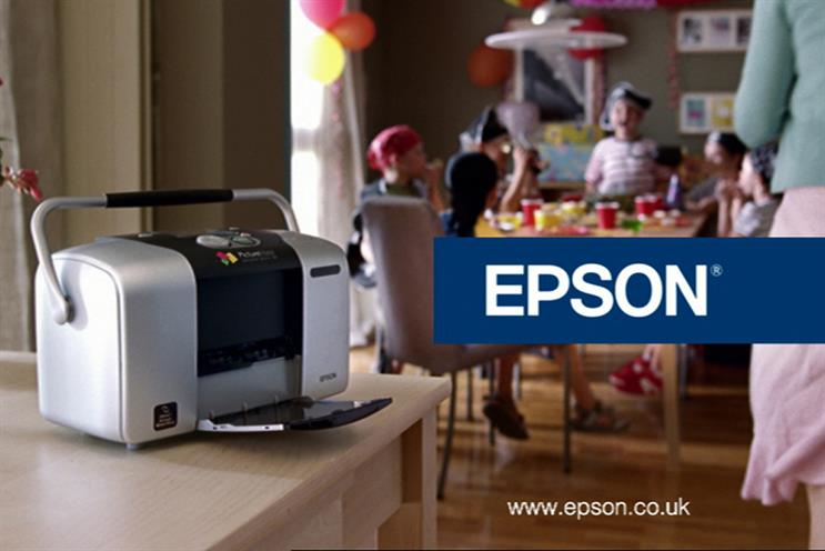 Epson: Total Media will handle planning and buying for its printers and a new smartwatch