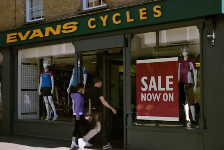 Evans Cycles: Mindshare oversees media business