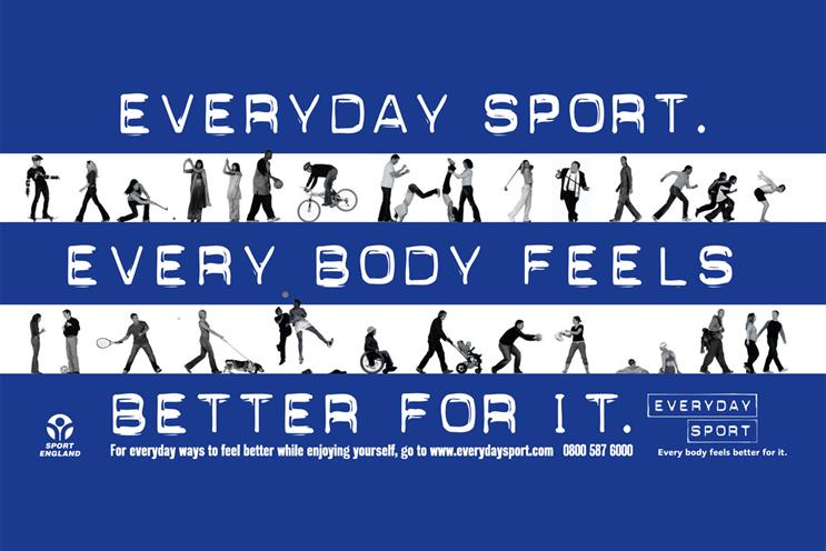 Sport England seeks shop for campaign