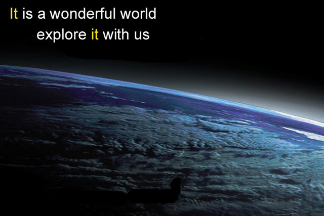 Thomas Cook: 'it is a wonderful world' campaign