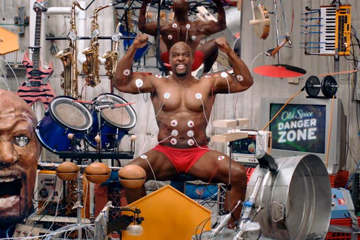 Old Spice: W&K's 'muscle music' embraced uncertainty and experimented with new technologies