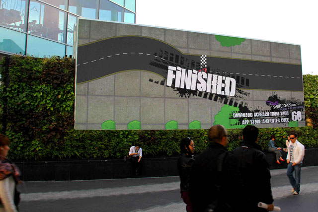 Swiftcover: launches race game at Westfield